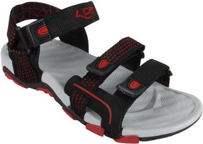 Lancer Men Black, Red Sandals