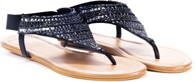 Lavie Women Black Flats