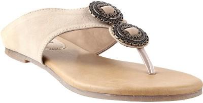 Mochi Classic Women Beige Flats