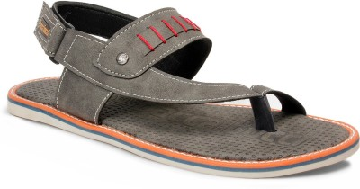 Bacca Bucci Men Grey Sandals