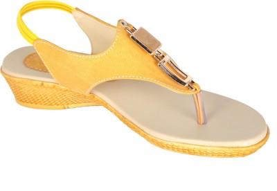 Varsha Women Yellow Flats