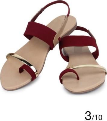Geetika Women Brown Flats