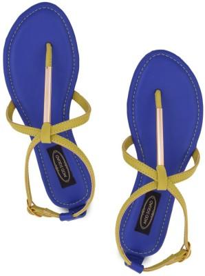 Modsquad Women Blue Flats