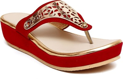 Select Steps Women Red Flats