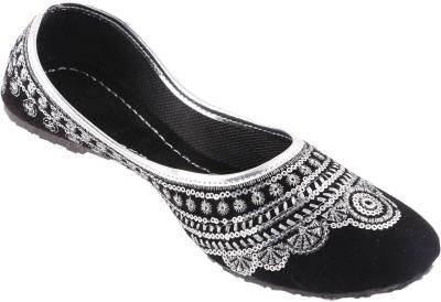heavenfoot Girls Black Flats