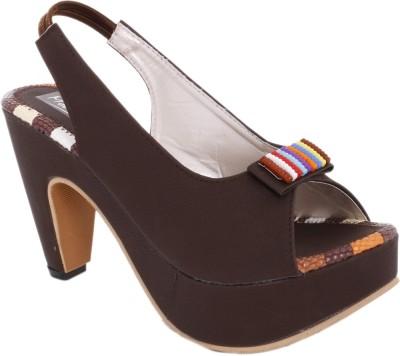 Modin Women Brown Heels