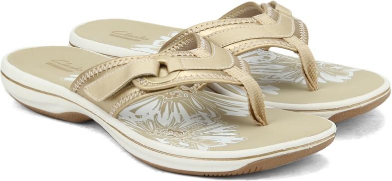 6cbc1a3b38e1f1 Clarks Brinkley Mila Gold Metallic Women Gold Metallic Sports Sandals