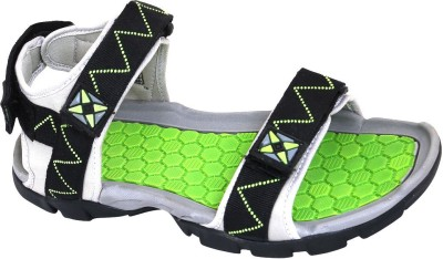 GOWELL Men Green, Black Sandals