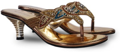 Touristor Hilarie Women Silver Heels