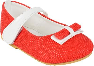 GELUKKIG Girls Red Flats