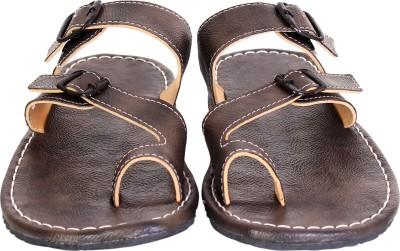 Anav Men Brown Sandals