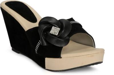 Fadrin Women Black, Black Heels