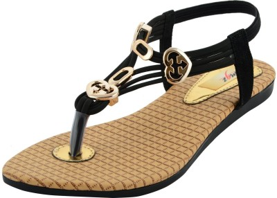 mgz Girls Black Sandals