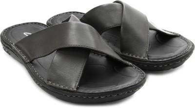 Clarks Men Black, Grey Sandals