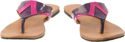 Cws Women Purple, Pink Flats