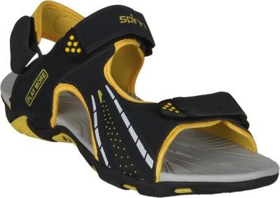 Spinn Men Navy, Yellow Sandals