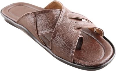 New V K Exports Men Brown Sandals