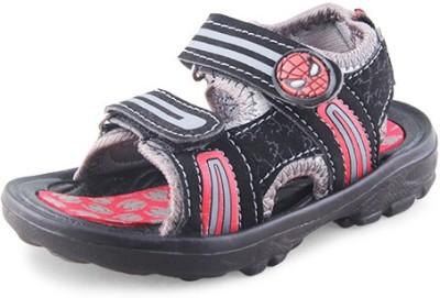 Spiderman Boys Black Sports Sandals