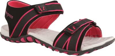 Action Campus Men Black, Pink Sandals