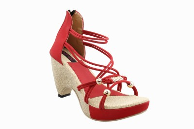 Legona Women Red Heels