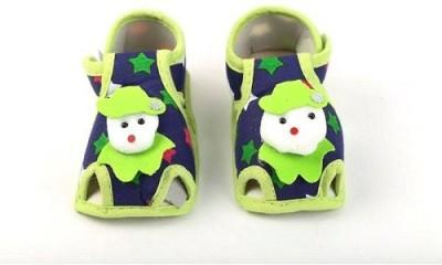 CHHOTE JANAB Baby Girls, Baby Boys Green Flats