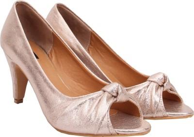 Welson Women Gold Heels