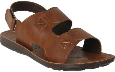 Action Shoes Men Tan Sandals