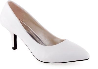 Kielz Women White Heels