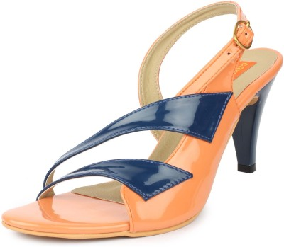 Cara Mia Women Orange Heels