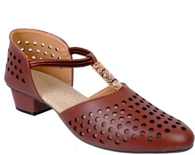 Fescon Women Brown Heels