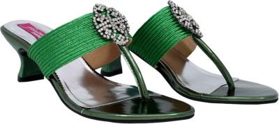 Femine Women Multicolor Heels