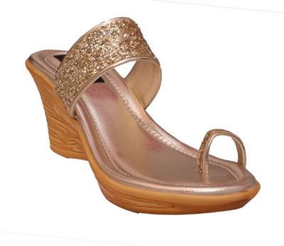 Royal She Women Gold Heels