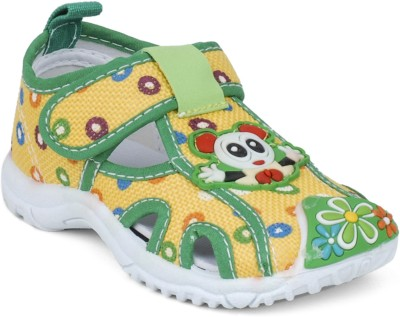 Action Shoes Baby Boys Yellow Sandals