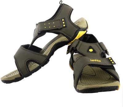Lotto Men Yellow Sandals