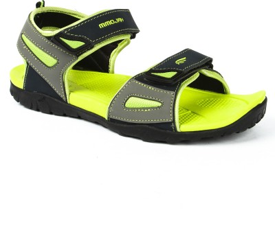 Mmojah Men Green, Grey Sandals