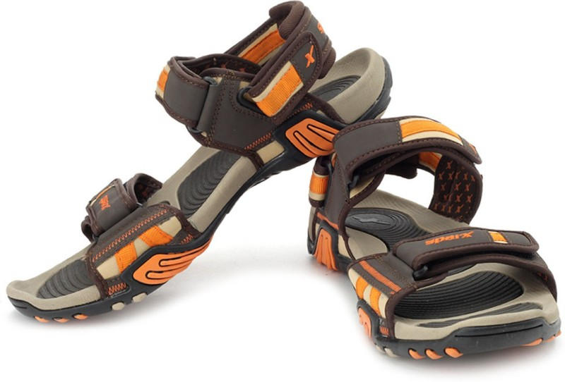 Sparx Men Brown Beige Orange San...