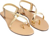 Step India Women GOLD Wedges