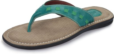 Nawaabs 1103 Men Green Flats