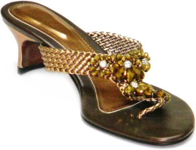 Celebrity Women Brown Heels