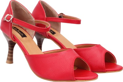 Welson Women Red Heels