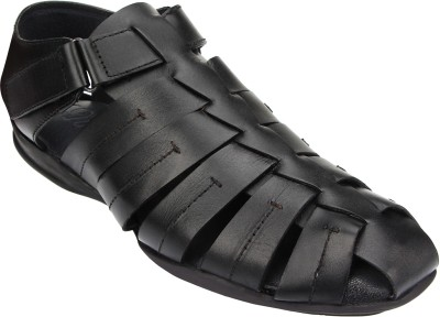 ESTD. 1977 Men Black Sandals