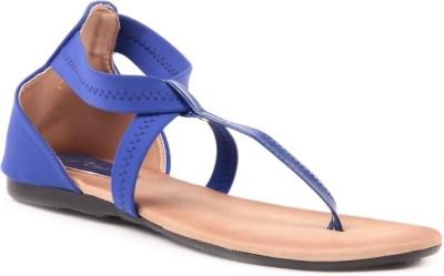 Lyc Blue Sandal Women Blue Flats