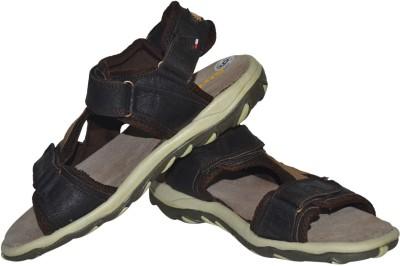Strive Men Brown Sports Sandals