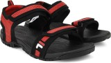 Fila Men BLK/RD Sandals