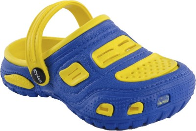 Spice Double Bubble 1823 Baby Boys Blue, Yellow Clogs