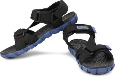 Bata F1 Men Black, Blue Sandals