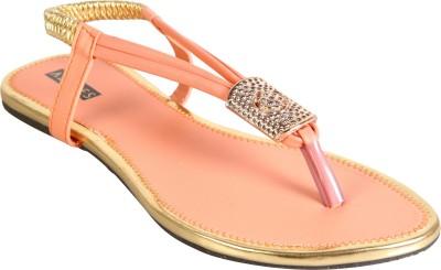 Azores Women Pink Flats