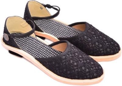 Myra Women Black Heels