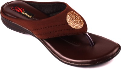 Fashmak Women Brown Flats