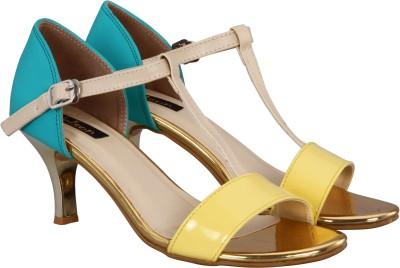 Welson Women Yellow Heels